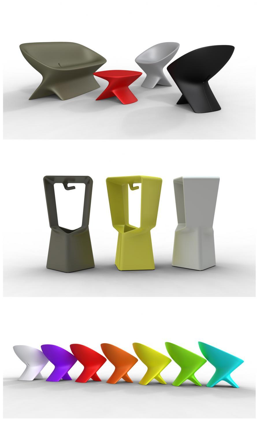 Marque qui est paul , mobilier design outdoor