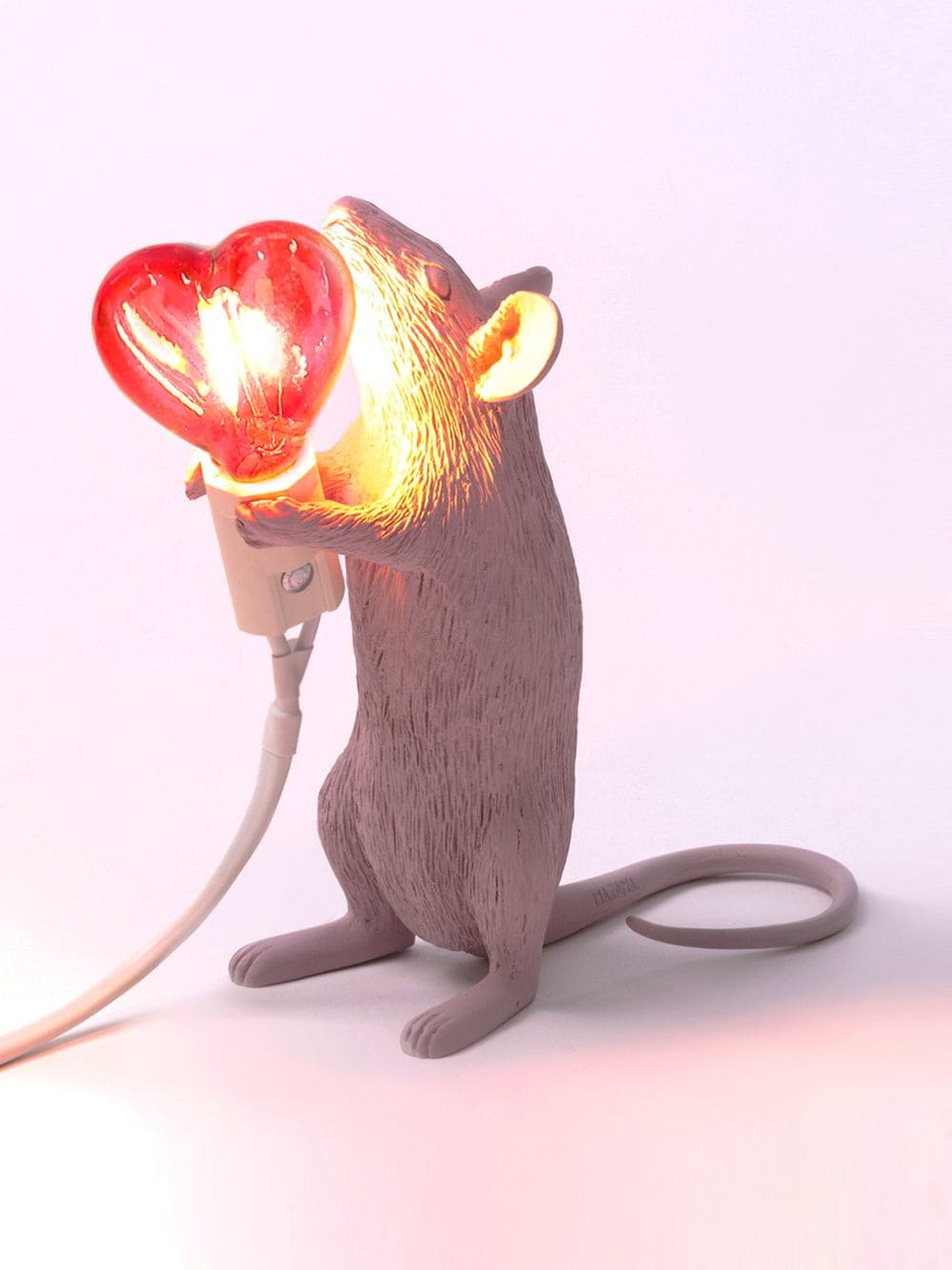 Mouse lamp Love-seletti-st valentin