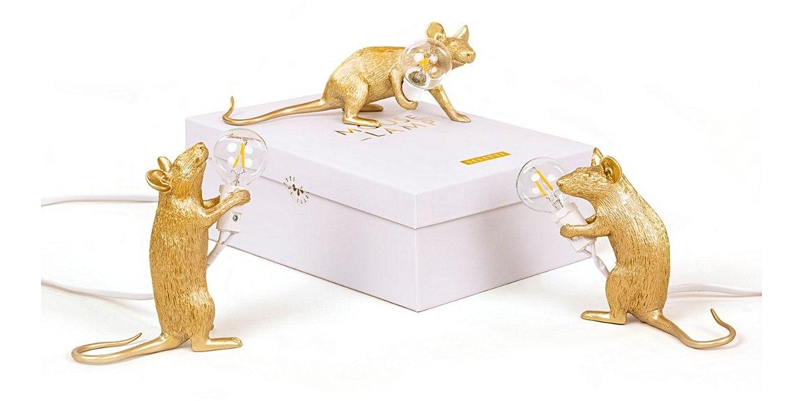 Lampe-design-souris-gold-marque-seletti