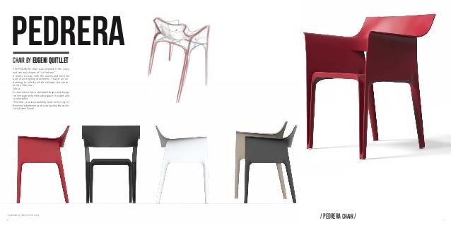 4 chaises pedrera Vondom