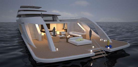 lit d'extérieur yacht vondom