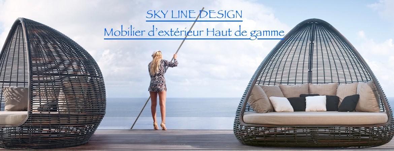 SKY LINE DESIGN, mobilier haut de gamme pour extérieur et bateaux.